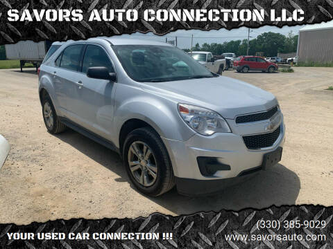 2015 Chevrolet Equinox for sale at SAVORS AUTO CONNECTION LLC in East Liverpool OH