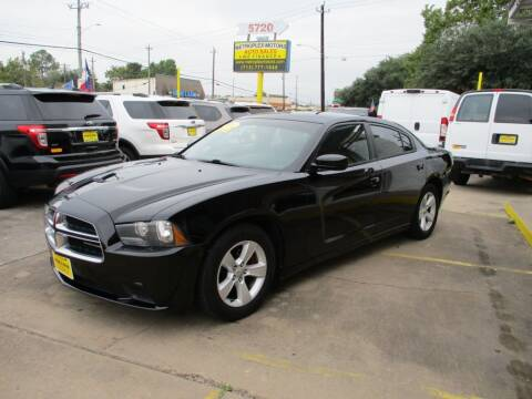 2014 Dodge Charger for sale at Metroplex Motors Inc. in Houston TX