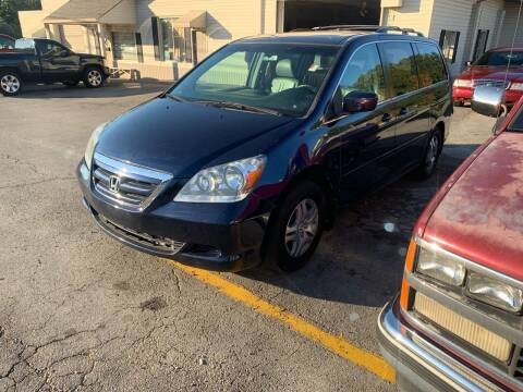 2007 Honda Odyssey for sale at MOUNTAIN CITY MOTORS INC in Dalton GA