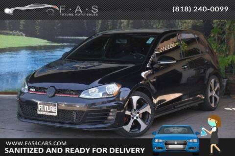 2017 Volkswagen Golf GTI for sale at Best Car Buy in Glendale CA