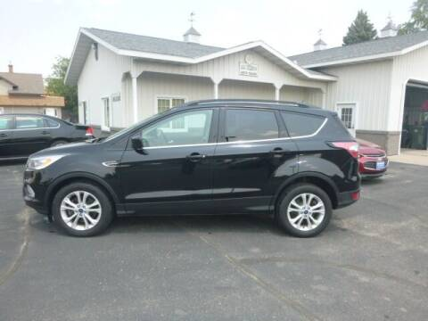 2017 Ford Escape for sale at JIM WOESTE AUTO SALES & SVC in Long Prairie MN