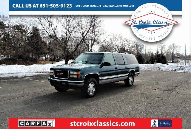 1994 GMC Suburban for sale at St. Croix Classics in Lakeland MN
