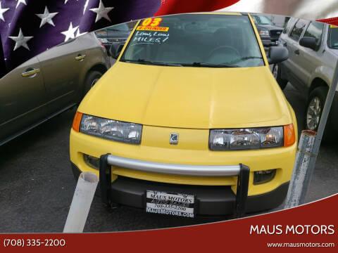2003 Saturn Vue for sale at MAUS MOTORS in Hazel Crest IL