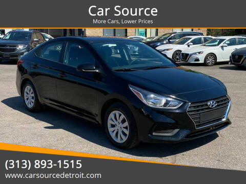 2019 Hyundai Accent for sale at Car Source in Detroit MI