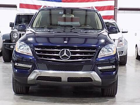 2013 Mercedes-Benz M-Class for sale at Texas Motor Sport in Houston TX