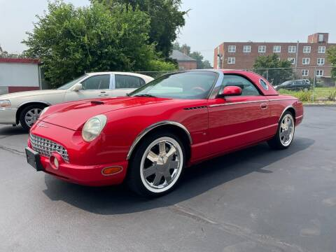 2003 Ford Thunderbird for sale at Deluxe Auto Sales Inc in Ludlow MA
