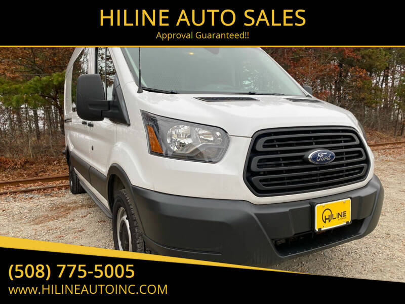 2015 Ford Transit Cargo for sale at HILINE AUTO SALES in Hyannis MA