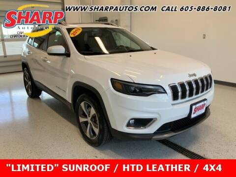 2019 Jeep Cherokee for sale at Sharp Automotive in Watertown SD