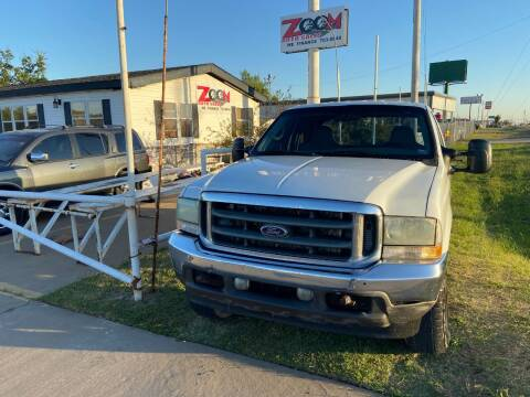 2002 Ford F-250 Super Duty for sale at Zoom Auto Sales in Oklahoma City OK