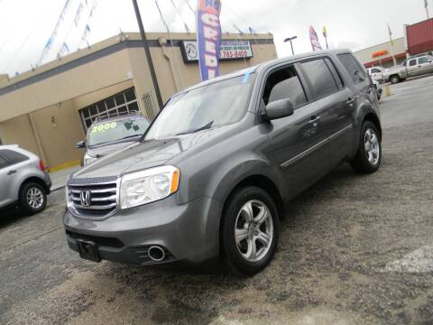 2013 Honda Pilot for sale at Meridian Auto Sales in San Antonio TX