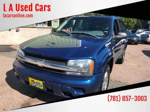 2005 Chevrolet TrailBlazer for sale at L A Used Cars in Abington MA
