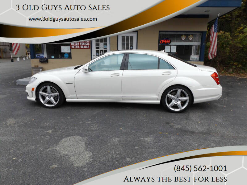 2010 Mercedes-Benz S-Class for sale at 3 Old Guys Auto Sales in Newburgh NY