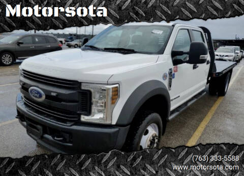2019 Ford F-550 for sale at Motorsota in Becker MN
