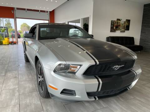 2010 Ford Mustang for sale at Evolution Autos in Whiteland IN