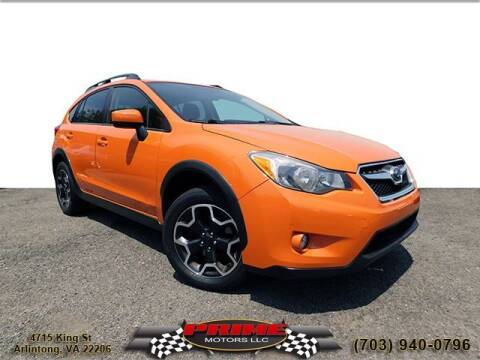2015 Subaru XV Crosstrek for sale at PRIME MOTORS LLC in Arlington VA