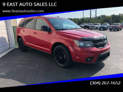 2017 Dodge Journey for sale at 9 EAST AUTO SALES LLC in Martinsburg WV