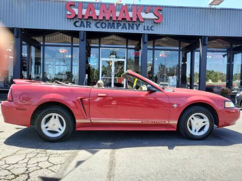 1999 Ford Mustang for sale at Siamak's Car Company llc in Salem OR
