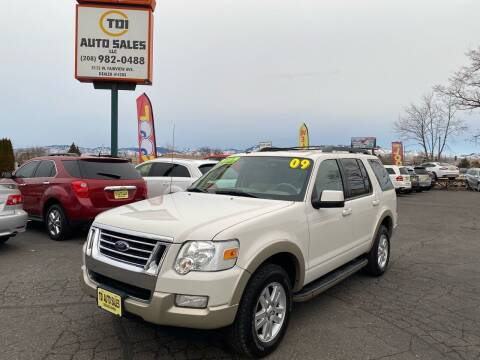 2009 Ford Explorer for sale at TDI AUTO SALES in Boise ID
