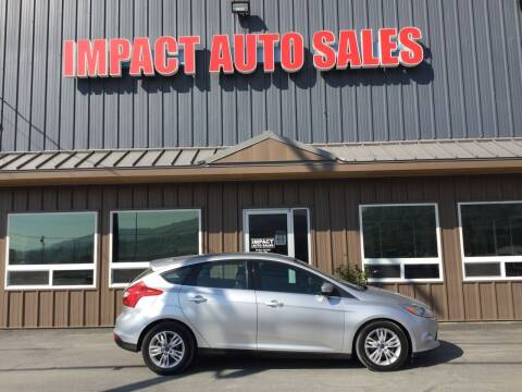2012 Ford Focus for sale at Impact Auto Sales in Wenatchee WA