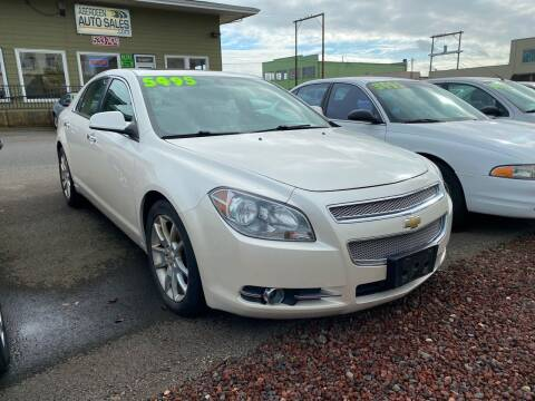 2010 Chevrolet Malibu for sale at Aberdeen Auto Sales in Aberdeen WA