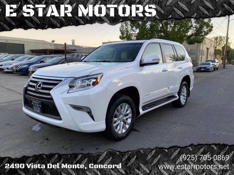 2017 Lexus GX 460 for sale at E STAR MOTORS in Concord CA