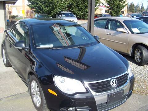2008 Volkswagen Eos for sale at M & M Auto Sales LLc in Olympia WA
