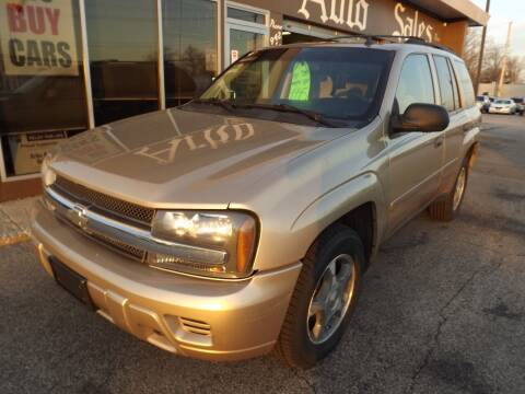 2007 Chevrolet TrailBlazer for sale at Arko Auto Sales in Eastlake OH