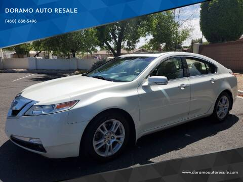 2009 Acura TL for sale at DORAMO AUTO RESALE in Glendale AZ