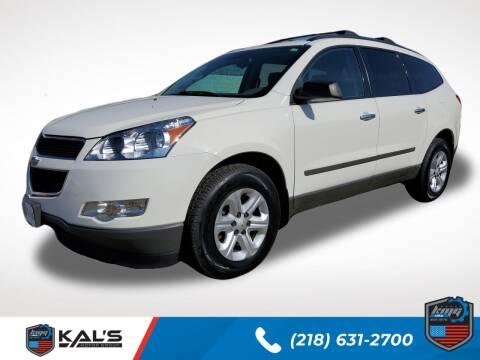 2012 Chevrolet Traverse for sale at Kal's Kars - SUVS in Wadena MN