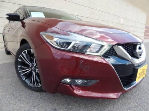 2017 Nissan Maxima for sale at Altitude Auto Sales in Denver CO
