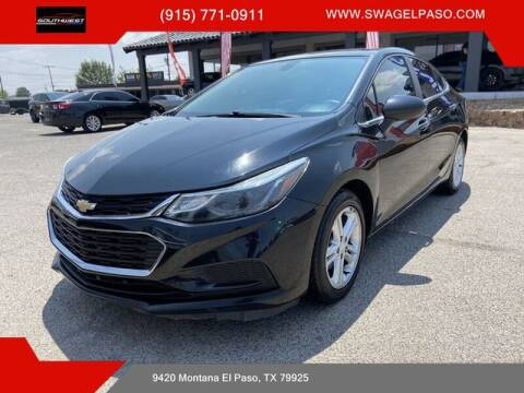 2017 Chevrolet Cruze for sale at SOUTHWEST AUTO GROUP-EL PASO in El Paso TX