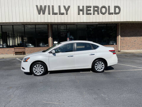 2014 Nissan Sentra for sale at Willy Herold Automotive in Columbus GA