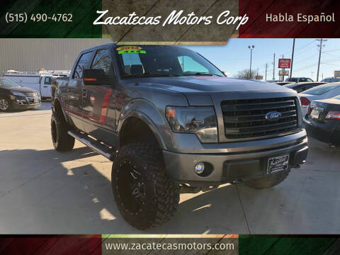 2014 Ford F-150 for sale at Zacatecas Motors Corp in Des Moines IA