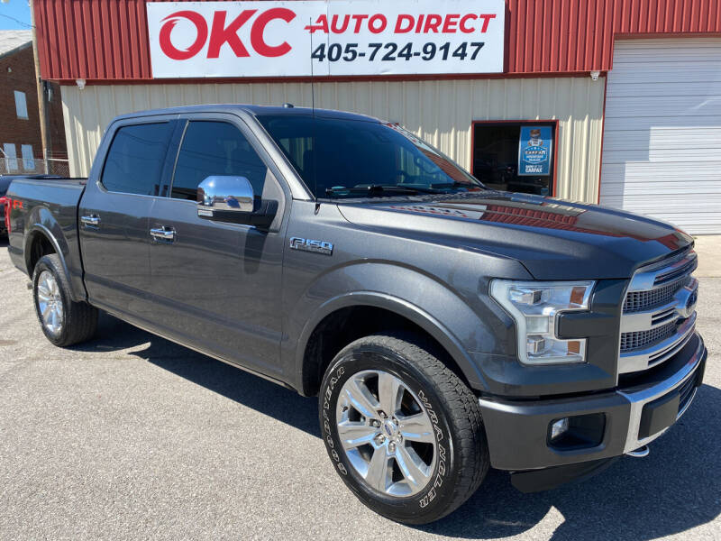 2015 Ford F-150 for sale at OKC Auto Direct in Oklahoma City OK