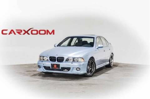 2000 BMW M5 for sale at CarXoom in Marietta GA