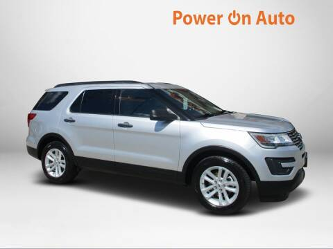 2017 Ford Explorer for sale at Power On Auto LLC in Monroe NC