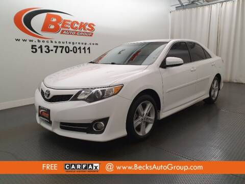 2014 Toyota Camry for sale at Becks Auto Group in Mason OH