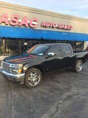 2007 GMC Canyon for sale at ASAC Auto Sales in Clarksville TN