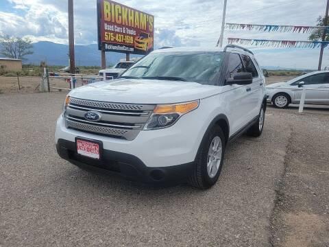 2013 Ford Explorer for sale at Bickham Used Cars in Alamogordo NM