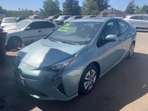 2016 Toyota Prius for sale at Contra Costa Auto Sales in Oakley CA