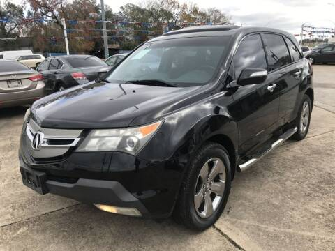 2007 Acura MDX for sale at AMERICAN AUTO COMPANY in Beaumont TX