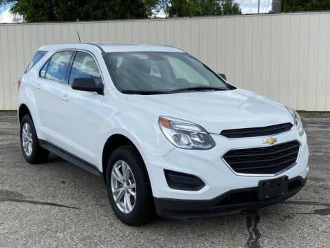 2017 Chevrolet Equinox for sale at Miller Auto Sales in Saint Louis MI
