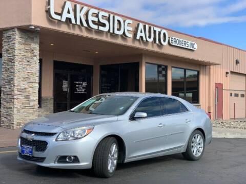 2015 Chevrolet Malibu for sale at Lakeside Auto Brokers in Colorado Springs CO