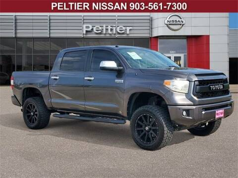 2015 Toyota Tundra for sale at TEX TYLER Autos Cars Trucks SUV Sales in Tyler TX