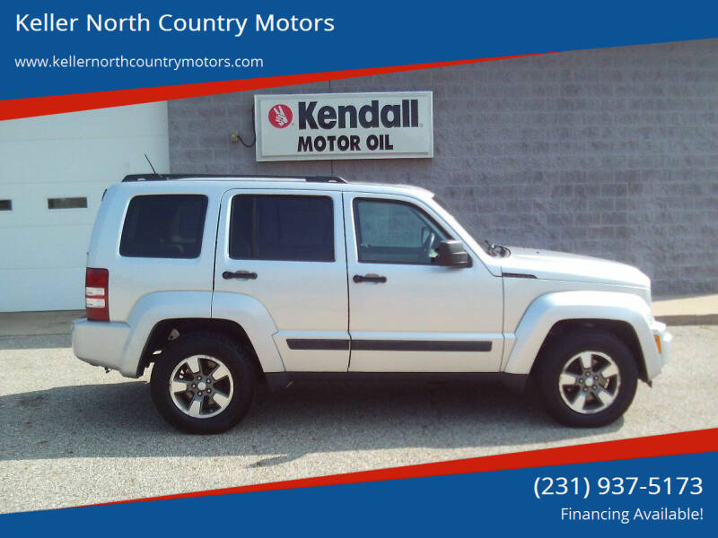 2008 Jeep Liberty for sale at Keller North Country Motors in Howard City MI