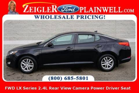 2013 Kia Optima for sale at Zeigler Ford of Plainwell- michael davis in Plainwell MI