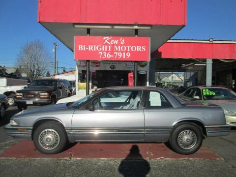 1991 Buick Regal for sale at Bi Right Motors in Centralia WA