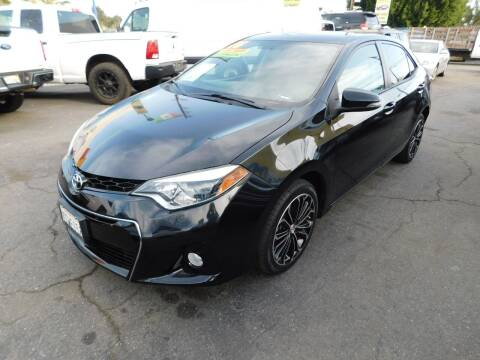 2016 Toyota Corolla for sale at Williams Auto Mart Inc in Pacoima CA