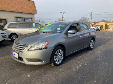 2013 Nissan Sentra for sale at Majestic Automotive Group in Cinnaminson NJ