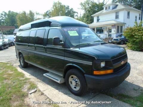 2008 Chevrolet Express Passenger for sale at Vans Vans Vans INC in Blauvelt NY